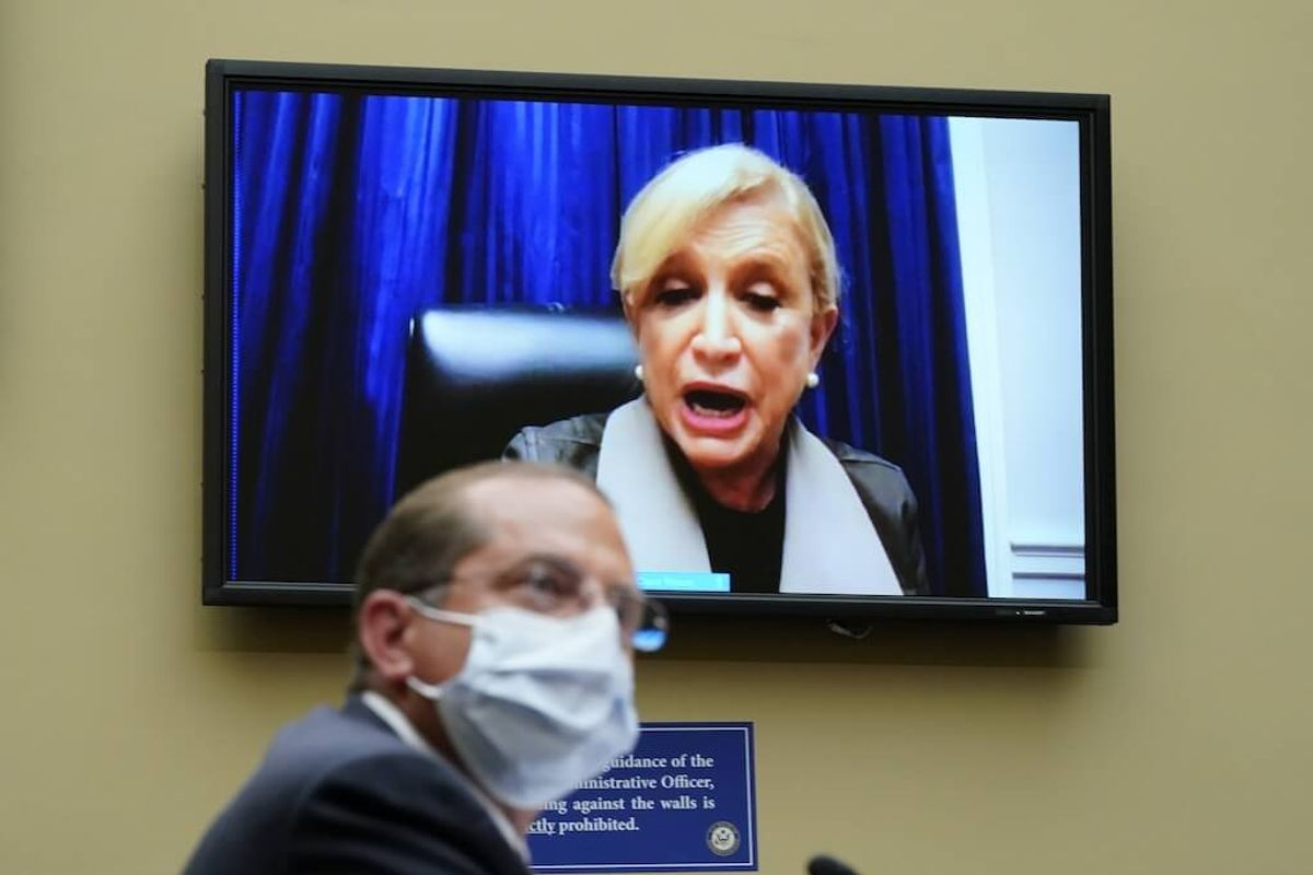 Top US Health Official: COVID-19 Response Not Compromised by Politics