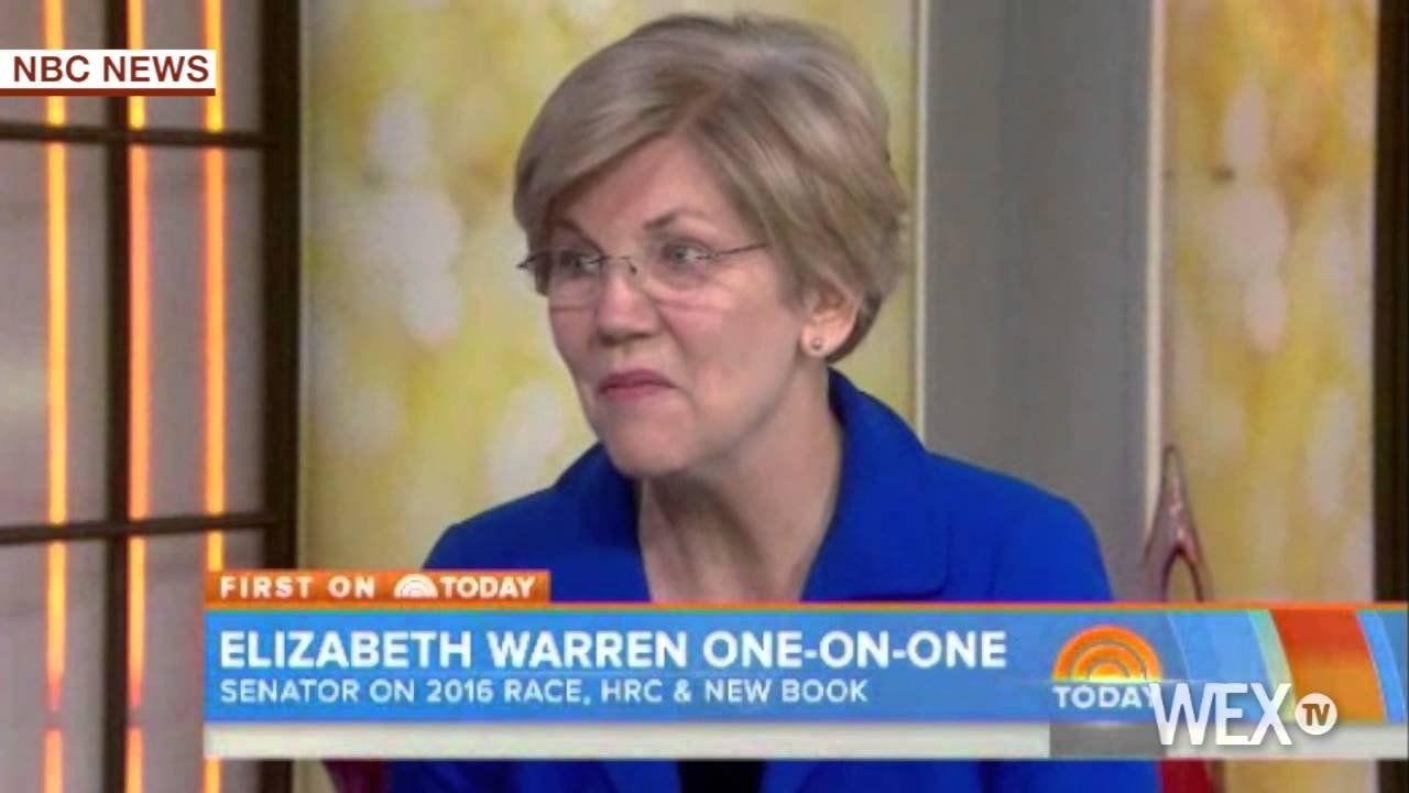 Elizabeth Warren repeats: 'I'm not running' in 2016