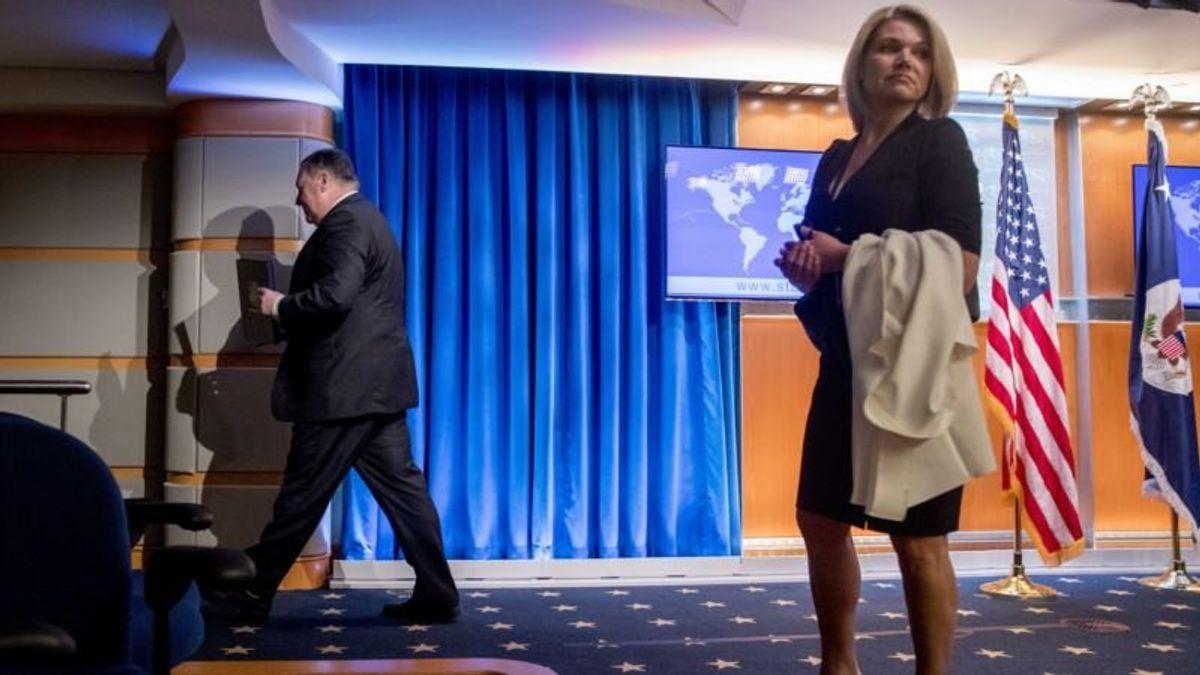 Report: State Dept. Spokeswoman Nauert Offered UN Post