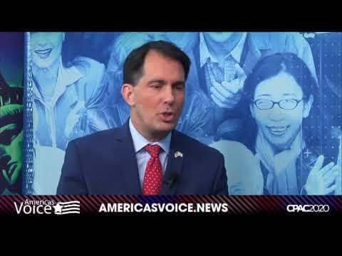 CPAC MIKE GAROFALO SITS DOWN WITH FORMER GOVERNOR OF WISCONSIN SCOTT WALKER