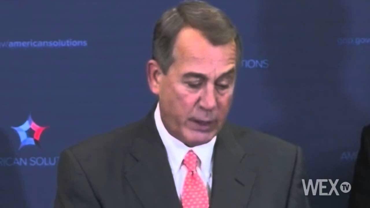 Boehner: Keystone XL veto would be like calling Americans 'stupid'