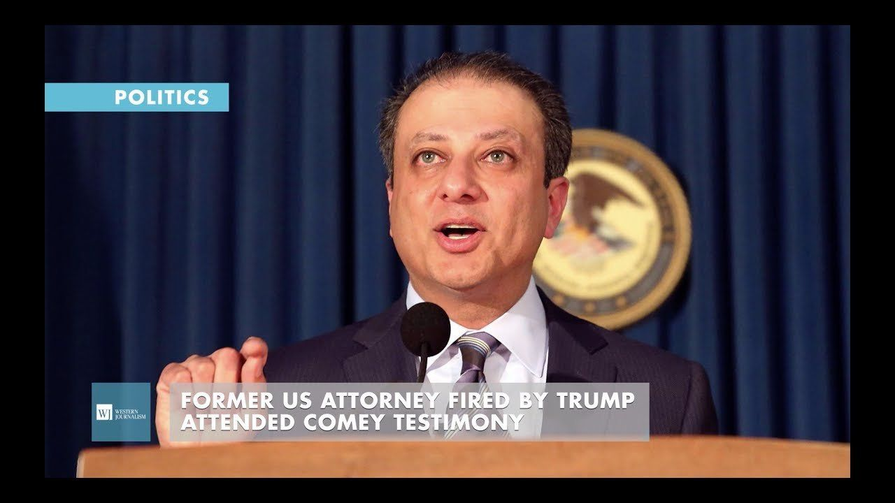 Former US Attorney Fired By Trump Attended Comey Testimony