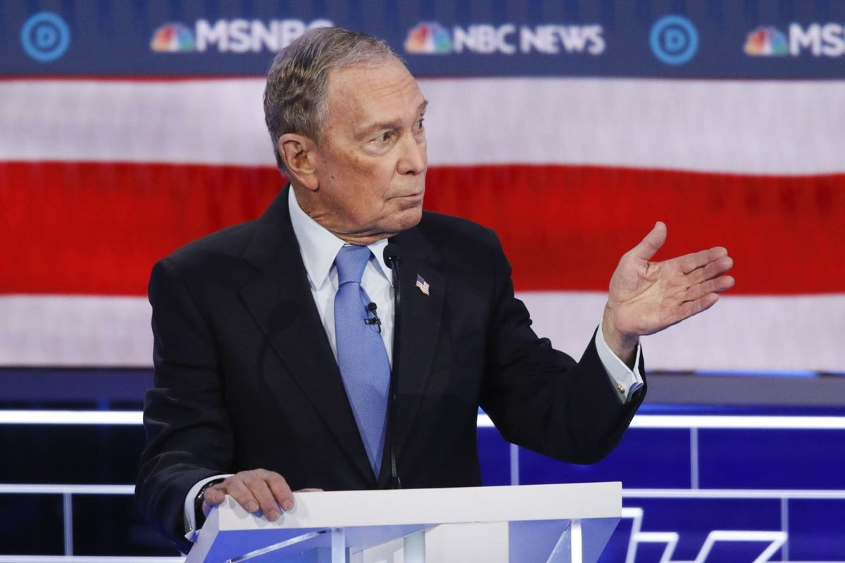 Finally on Debate Stage, Bloomberg Has to Answer to Democratic Rivals