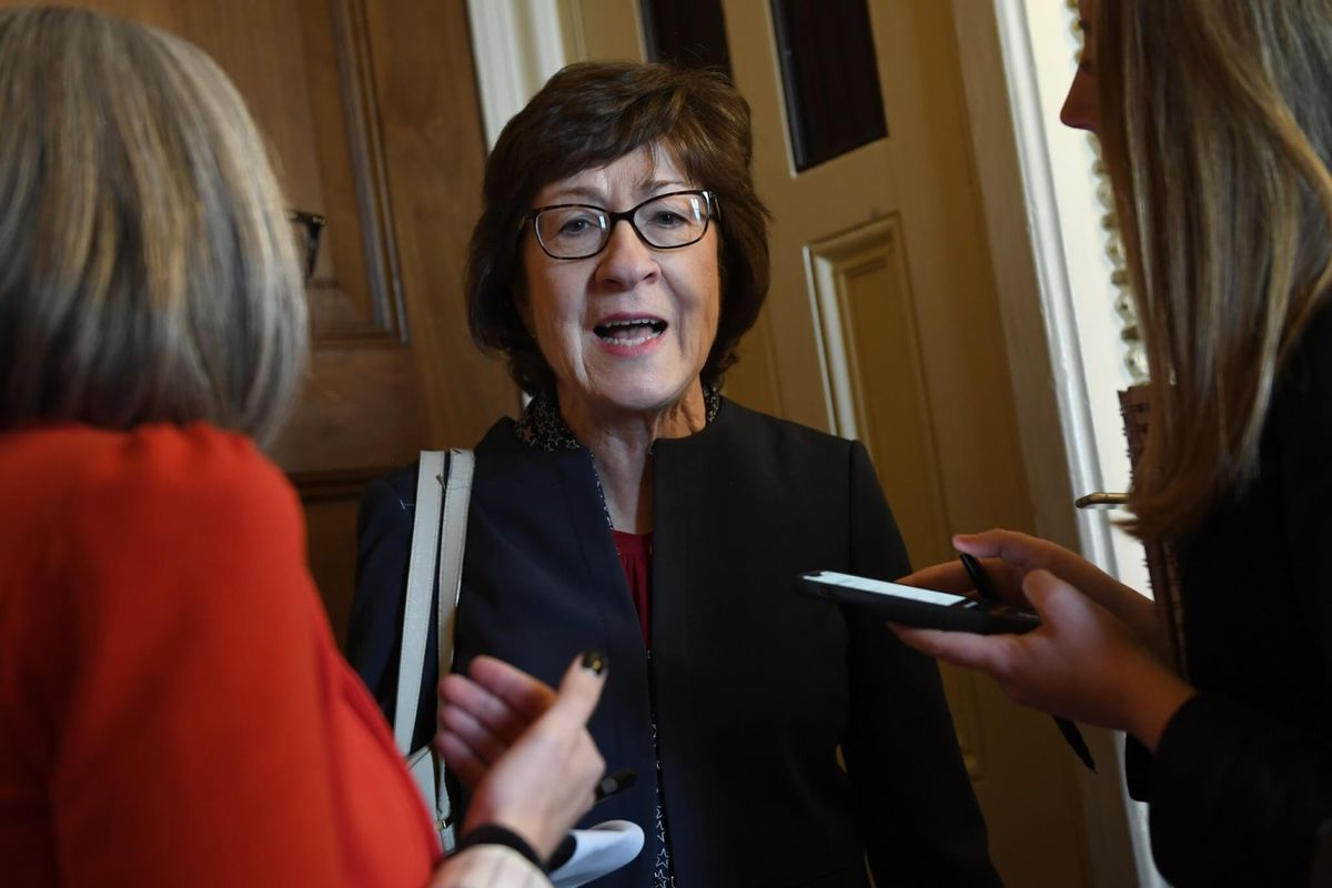 Democrats Tear Into GOP Sen. Collins Over Acquittal Vote