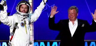 Is age really just a number? William Shatner's ride through space