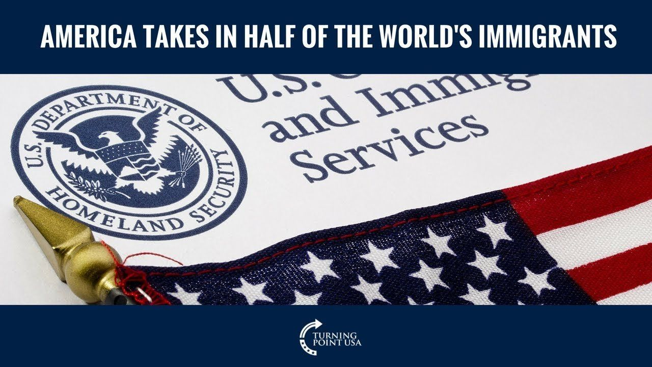 America Takes In Half Of The World's Immigrants