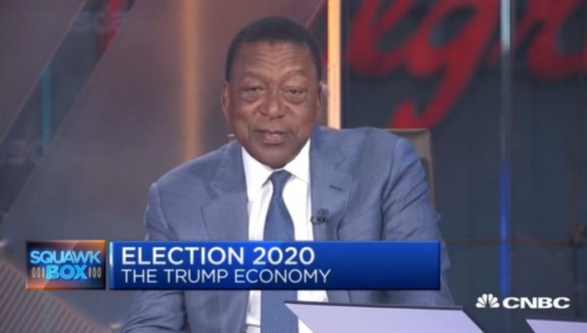 Bob Johnson: 'You Can't Argue with the Positive Things' Trump Is Doing for African-Americans
