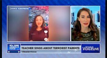 Ridiculous viral TikTok video of teacher singing about parents being terrorists