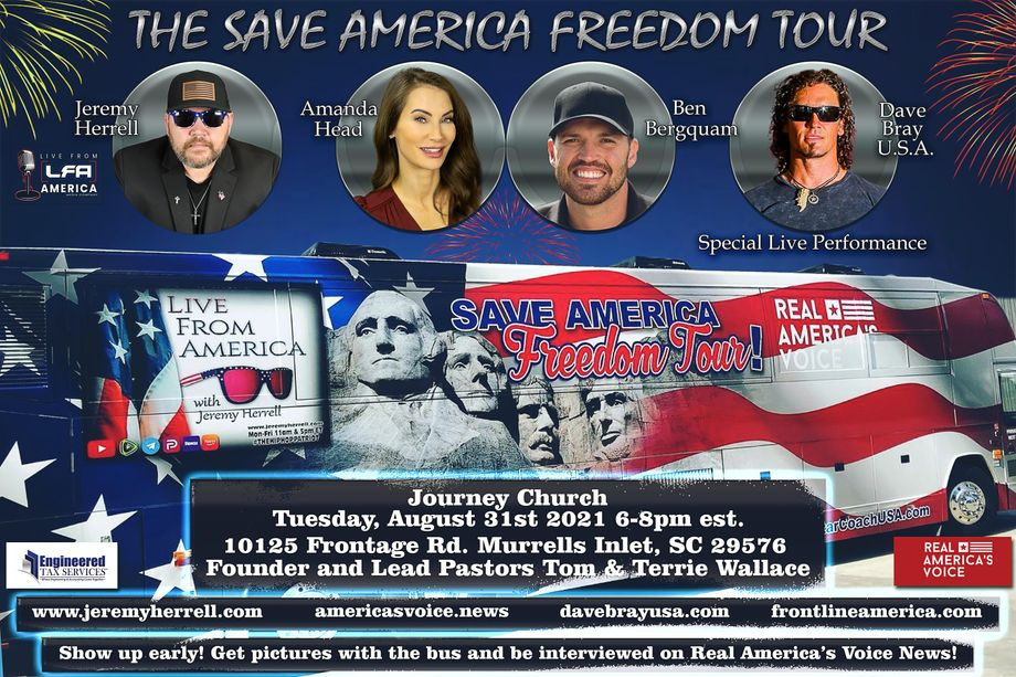 Save America Freedom Tour August 31