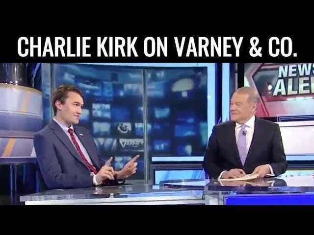 Charlie Kirk Talks President Trump On Varney & Co.