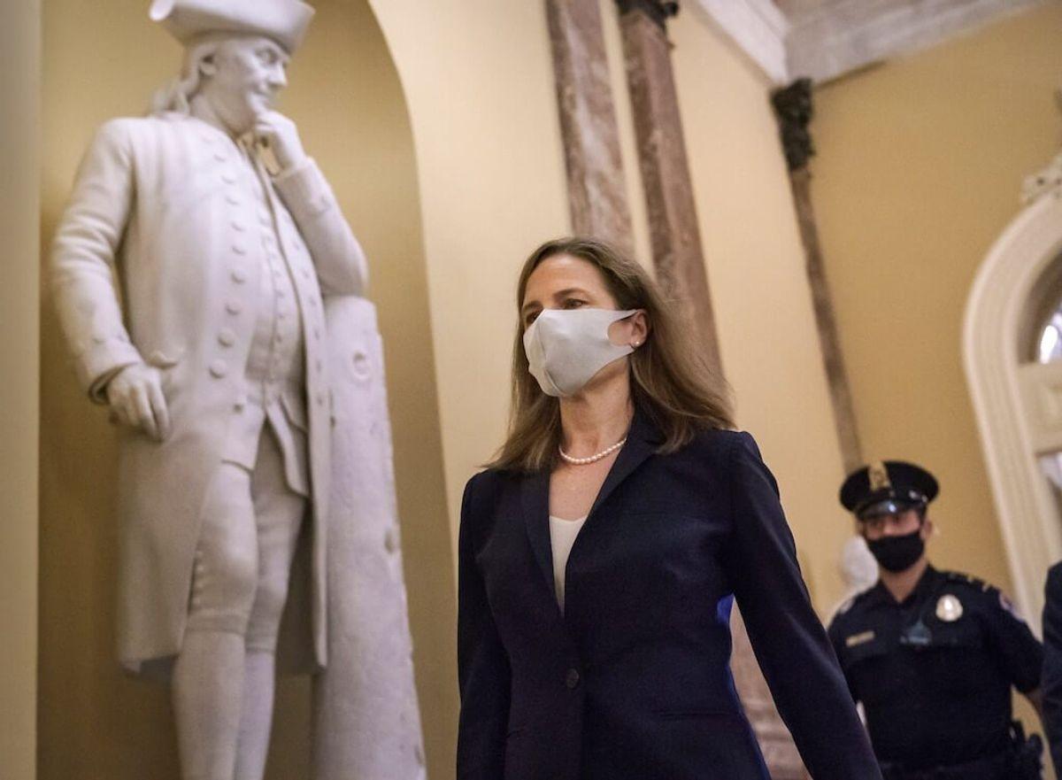 Senate Set to Confirm Judge Amy Coney Barrett to Vacancy on US Supreme Court Monday