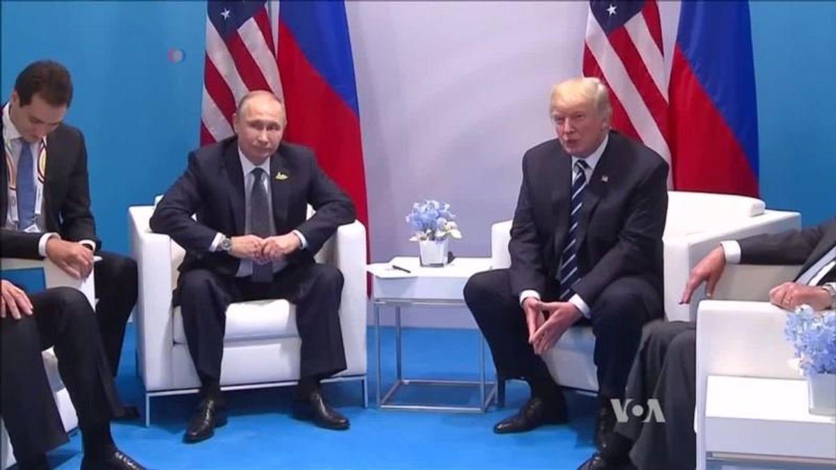 Ahead of Trump-Putin SummitAmericans Divided Over Russia Probe
