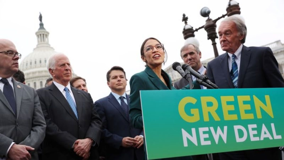 With $1 Million Donation, Activists Renew Green New Deal Push in US Election