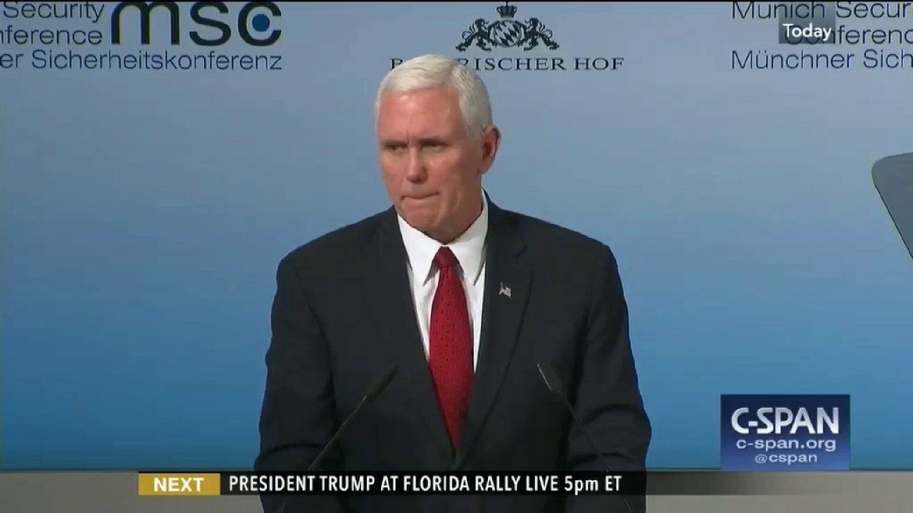 VP Pence: NATO Must Pay Its Fair Share For Defense