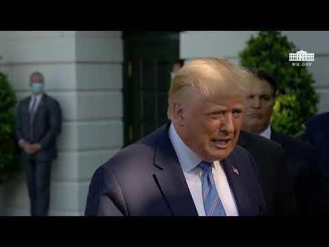 President Trump Participates in America CARES: Small Business Relief Update