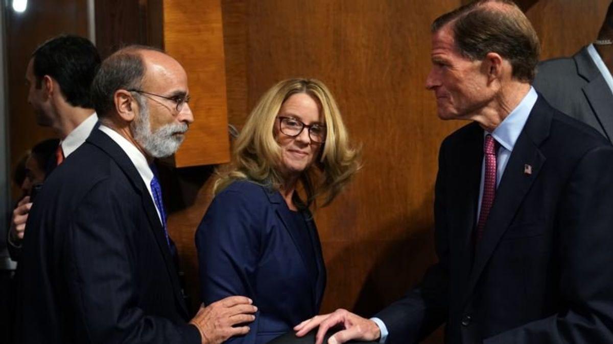 Kavanaugh, Ford in High Stakes Senate Hearing