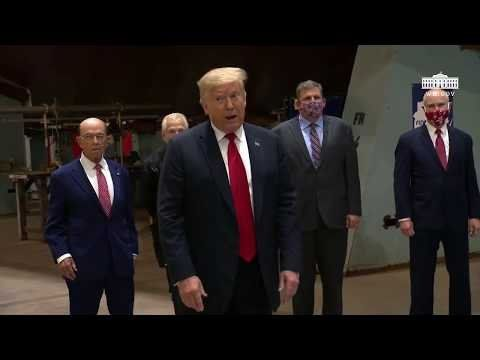 Trump Manchester Rally B Roll Montage