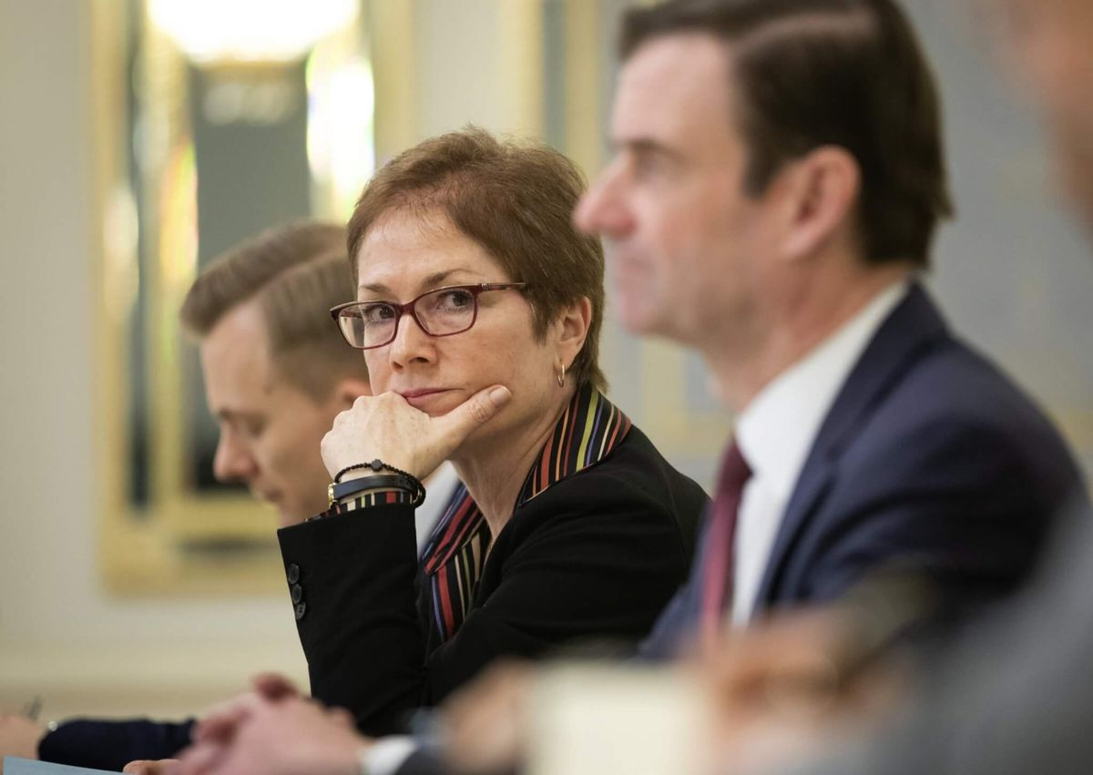 Ukraine Announces Probe Into Possible Surveillance of Ex-US Ambassador
