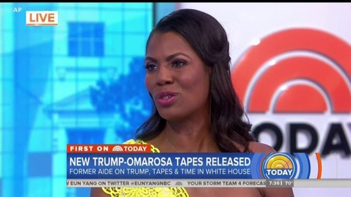 White House, Omarosa, and Security Worries Over Secret Tapes