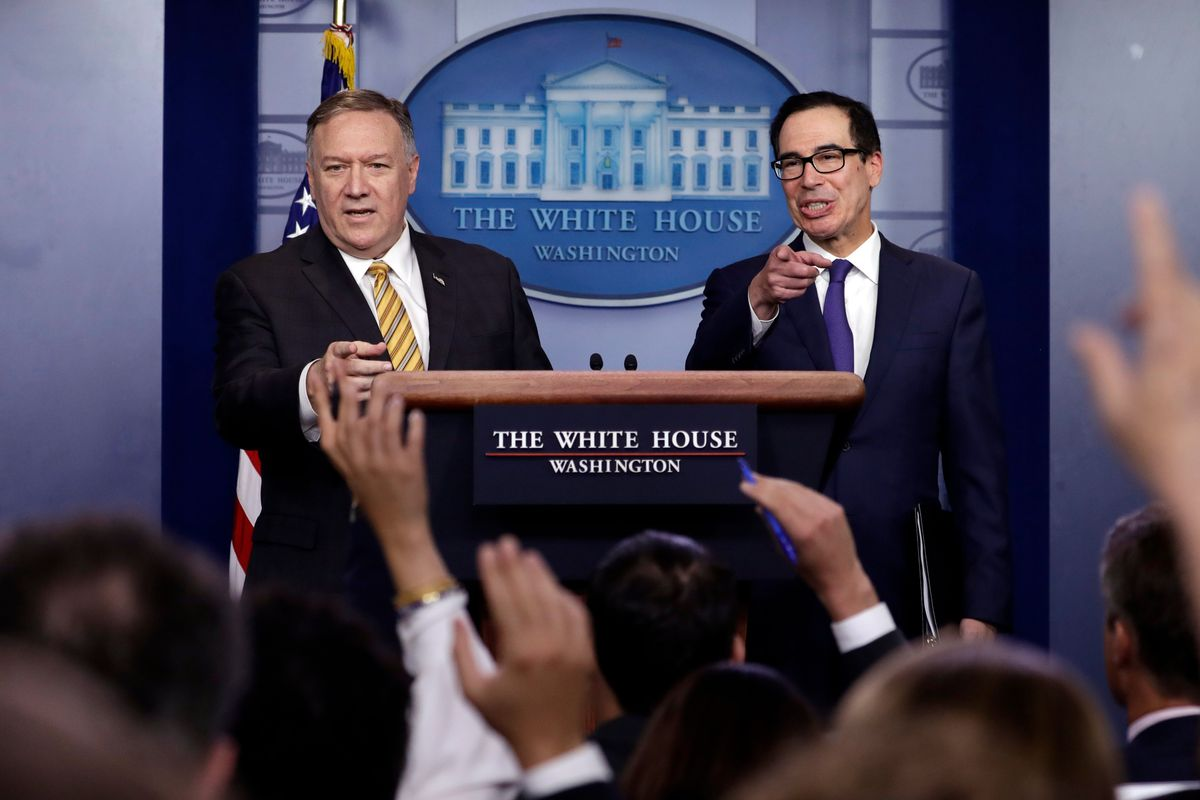 Pompeo Says Bolton Ouster Won't Change Foreign Policy, but Iran Hopes So