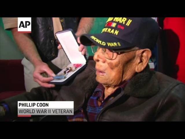 Oklahoma World War II veteran finally gets medals