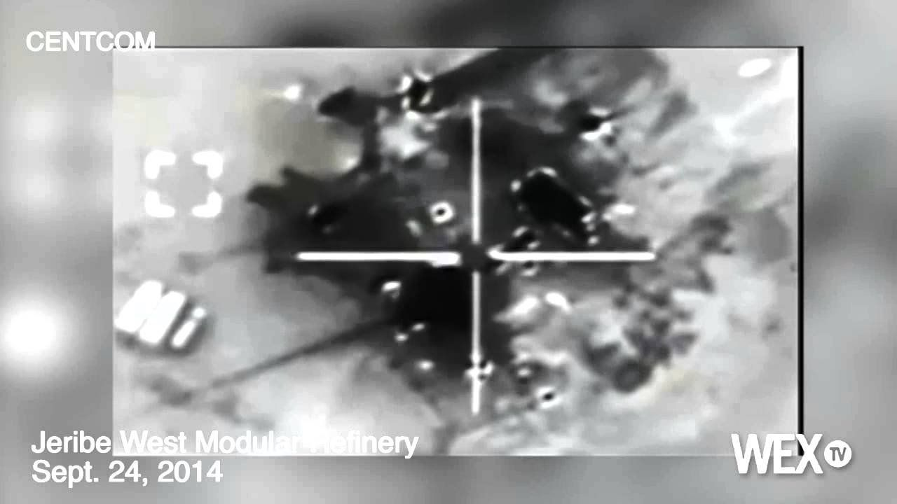 NEW VIDEO: US targets Islamic State oil refineries