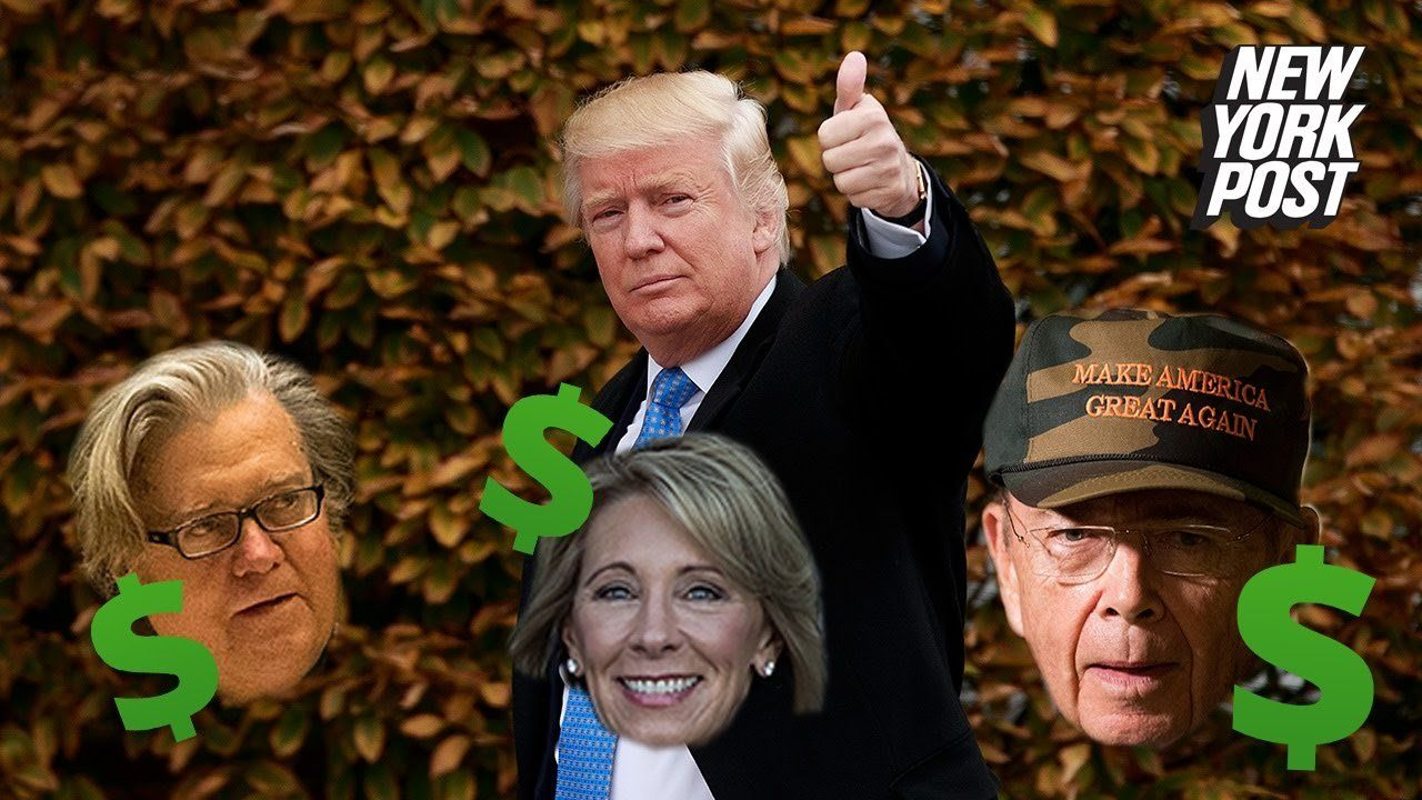 Meet Trump's filthy-rich cabinet members