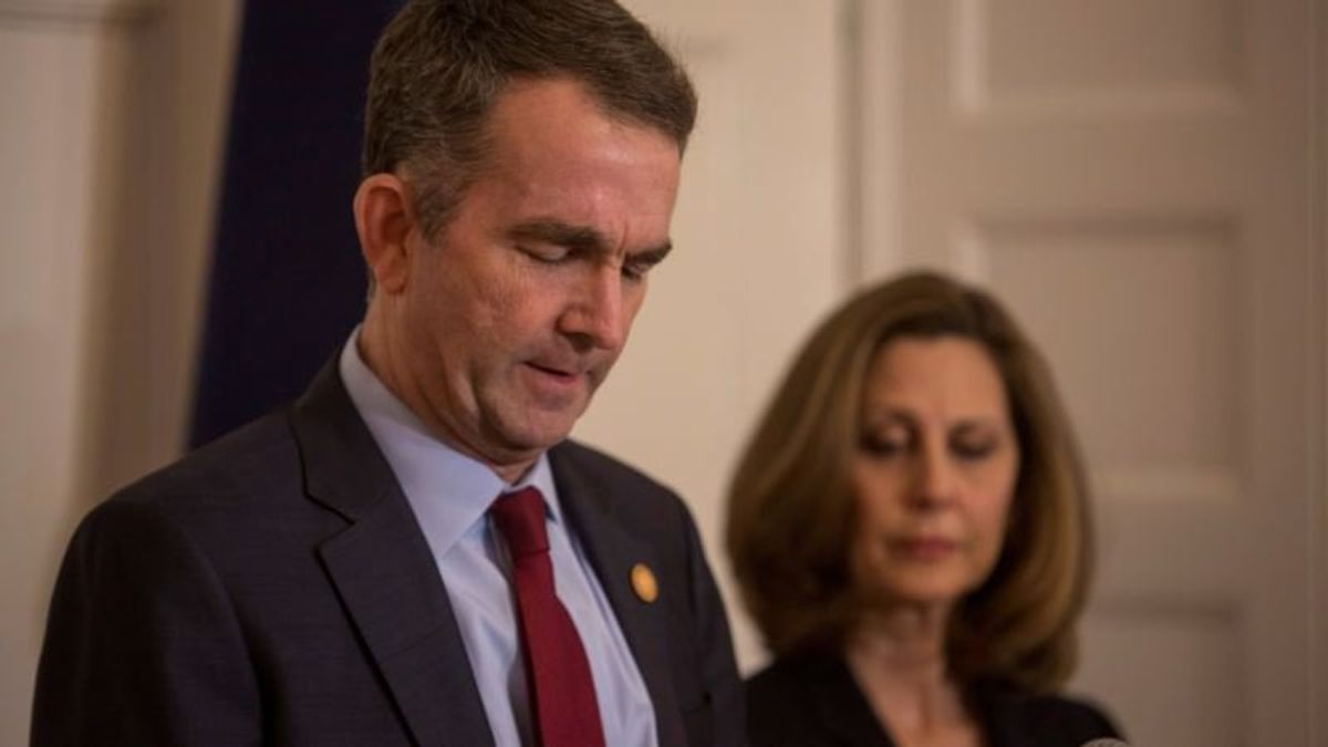 Virginia Governor Survives Scandal by Staying Out of Sight