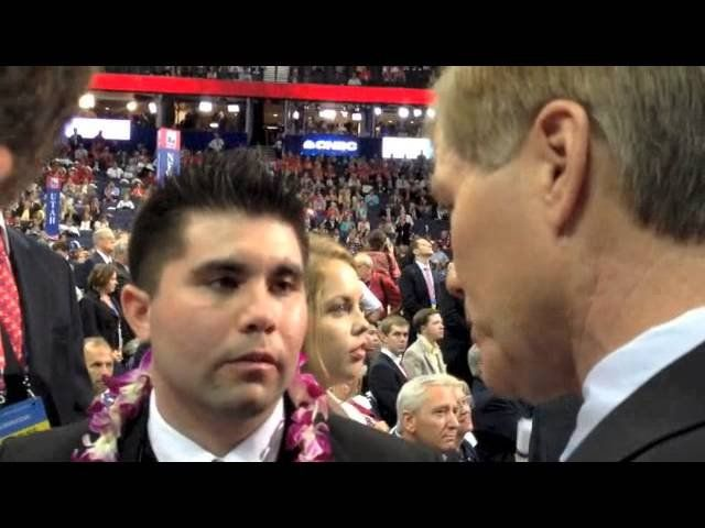 Gov. Bob McDonnell clashes with Ron Paul supporters