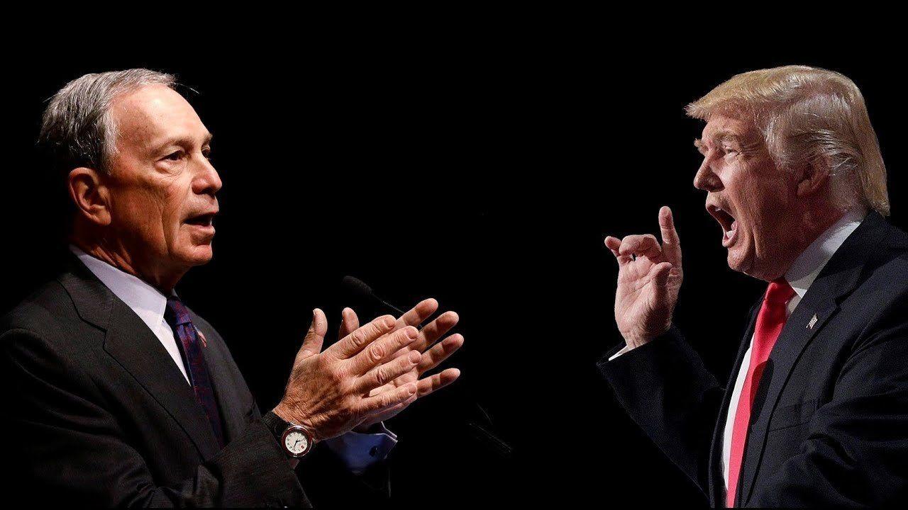 IT'S ON! TRUMP VS GLOBALIST BILLIONAIRE BLOOMBERG