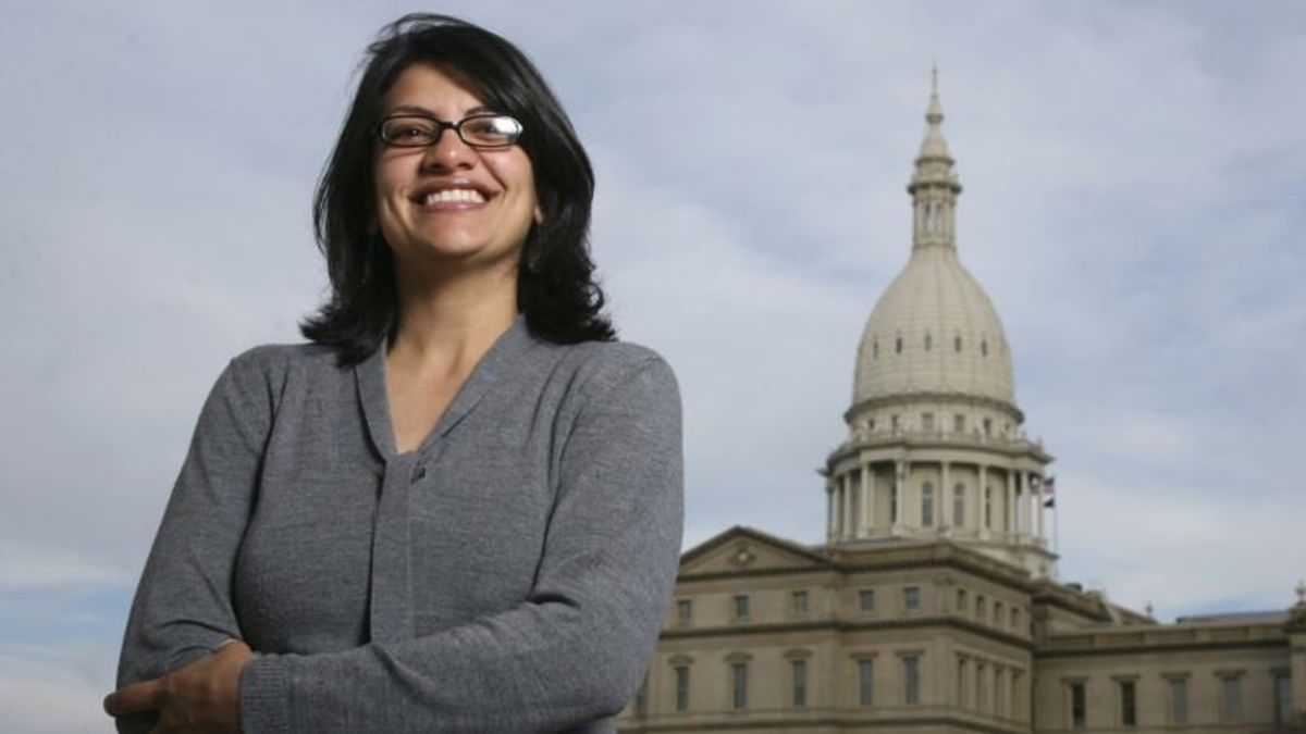 Palestinian-American Congressional Candidate Source of West Bank Pride