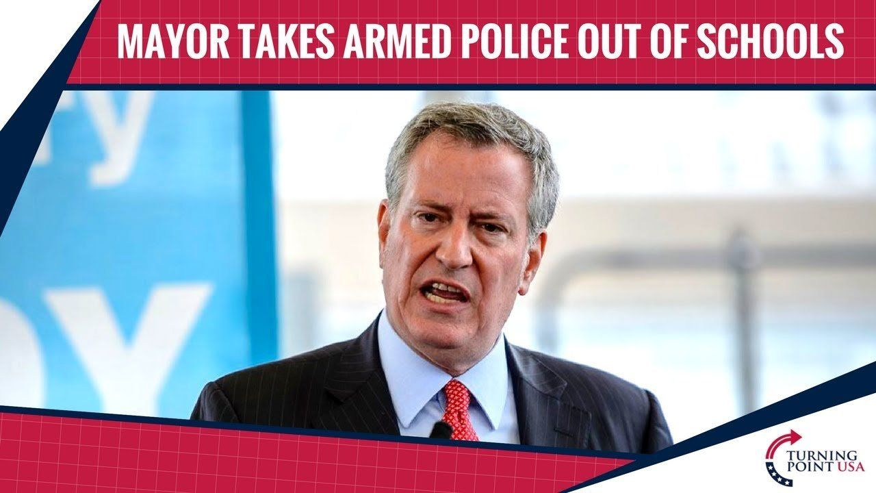 New York City Mayor Takes Armed Police Out Of Schools