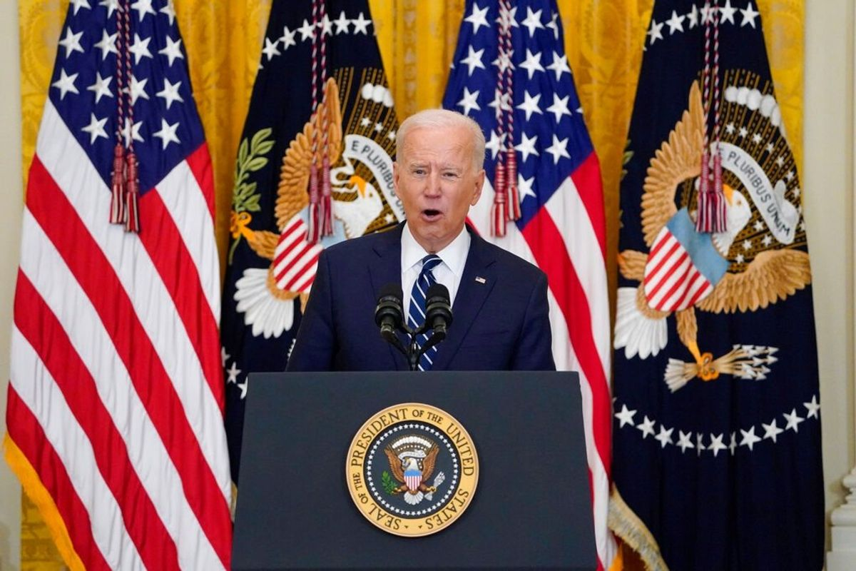 Border Issue Dominates Biden's First News Conference