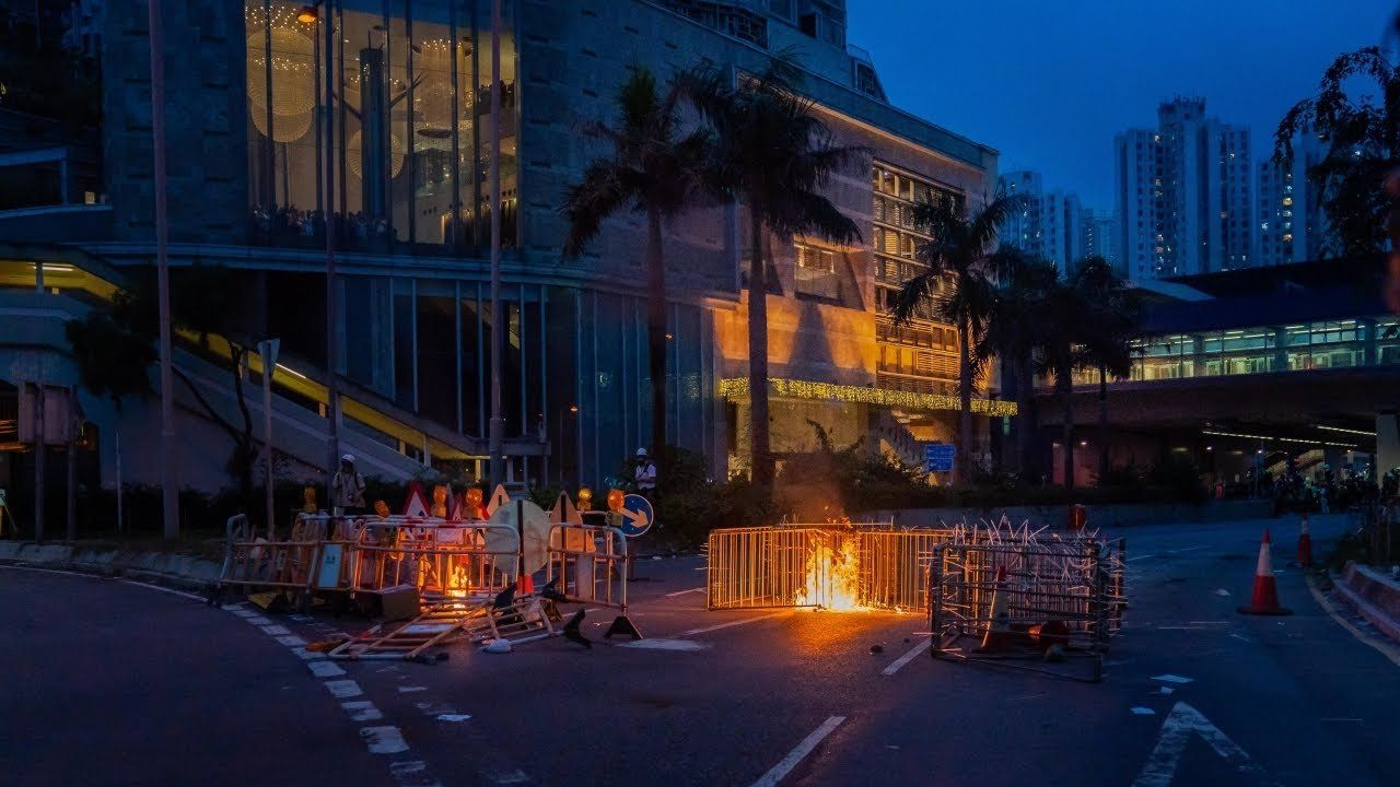 Hong Kong protests continue for 10th weekend