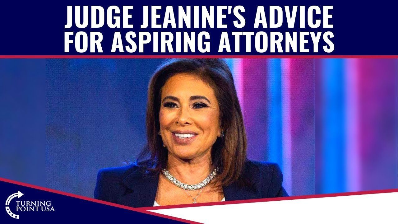 Judge Jeanine's GREAT Advice For Young Professionals!