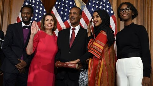 Young Muslims Celebrate with First Somali-American in Congress