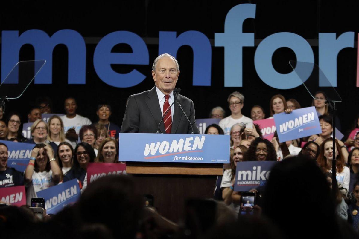 Rhode Island Governor Backs Michael Bloomberg for President