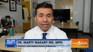 """Marty Makary says the CDC has been """"basically late or entirely wrong"""" on COVID guidance"""
