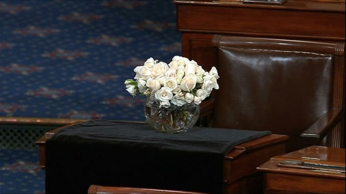 Services for McCain Begin Wednesday in Arizona