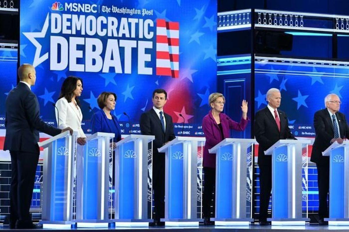 Trump Impeachment Hearings Fuel Democratic President Debate