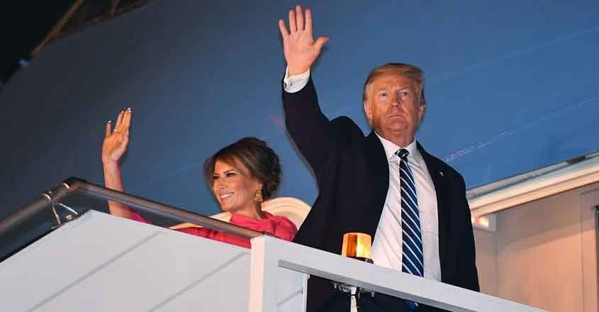 President Trump Returns From Trip to India