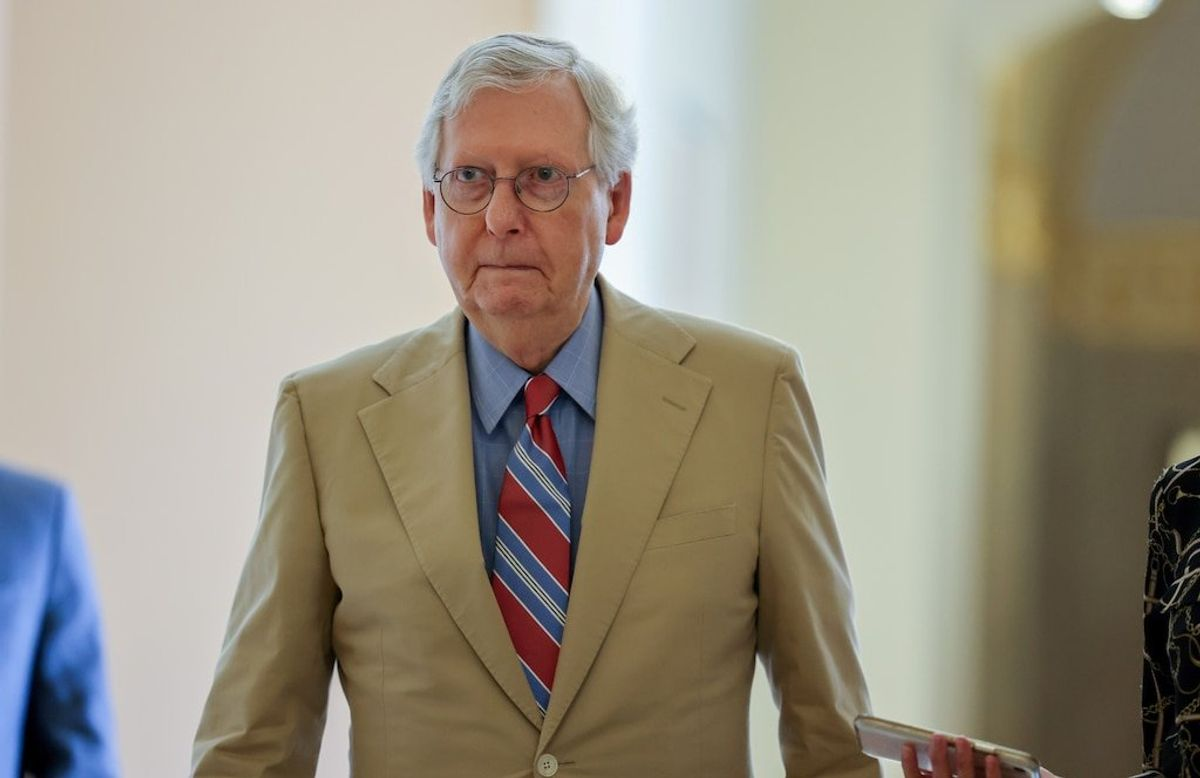 Republican McConnell Says He Would Block a Biden Supreme Court Pick in 2024
