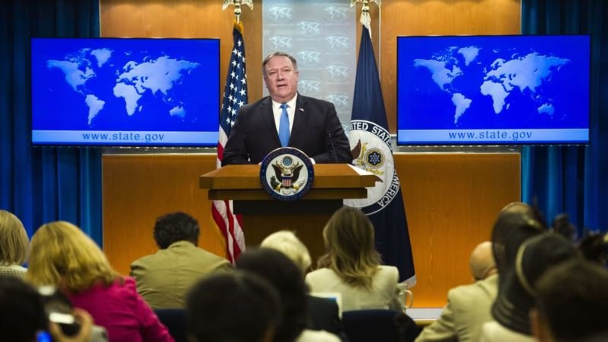 Pompeo Forms 'Iran Action Group' for Post-Nuclear Deal Policy