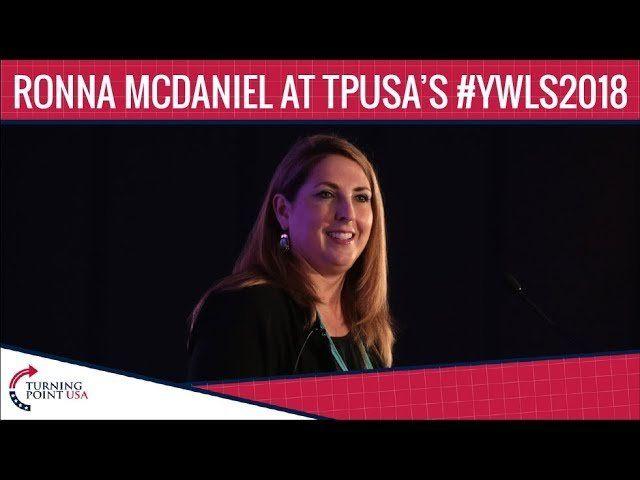 Ronna McDaniel At TPUSA's Young Women's Leadership Summit 2018