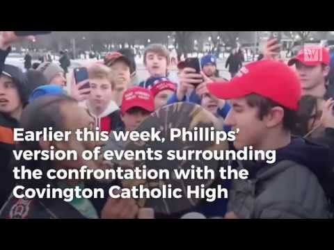 New Video Blasts Massive Hole in Nathan Phillips Reputation