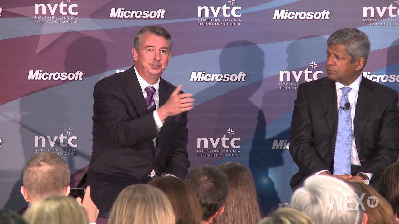 Gillespie, Warner battle over immigration and technology