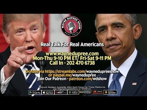 🔥 LIVE! WDShow 9-15 Obama Won't Go Away And His Next Gig Will Anger Most! 202 470 6738