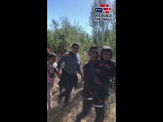 We Accidentally Ran Into A Flood Of Migrants At The Border…
