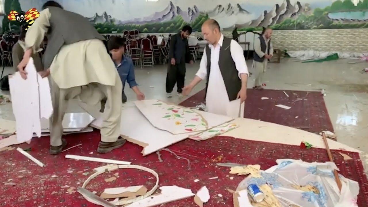 Bombing in Kabul kills at least 63 people