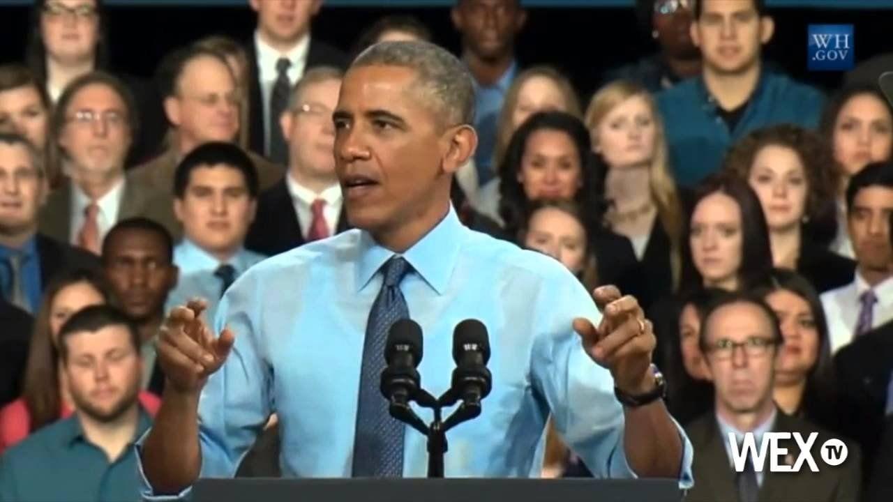 Obama talks middle class economics in Kansas